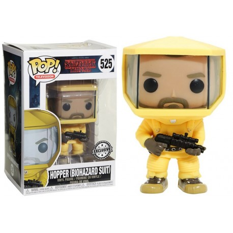 Figura Hopper Stranger Things num 512 Pop Vinyl Funko