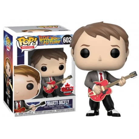 Figura Marty Mcfly Regreso al futuro Emmet Brown Pop vinyl Funko