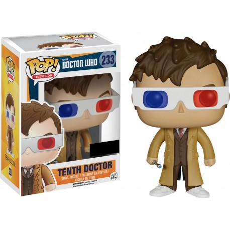 Figura Dr Who Pop N 319 Vinyl 10th Regeneration Doctor exclusiva