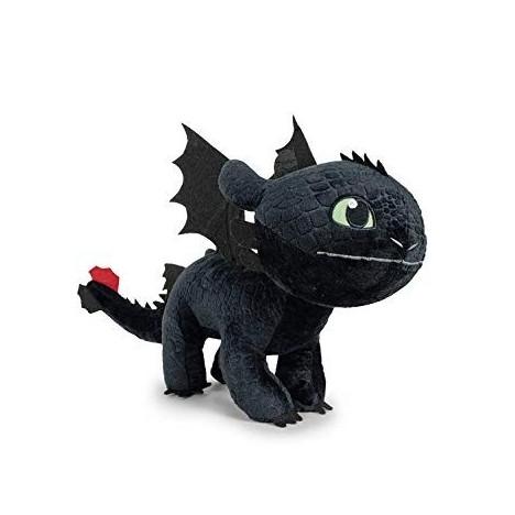 Peluche Desdentao oficial 40x60cm como entrenar a tu dragon toothless train