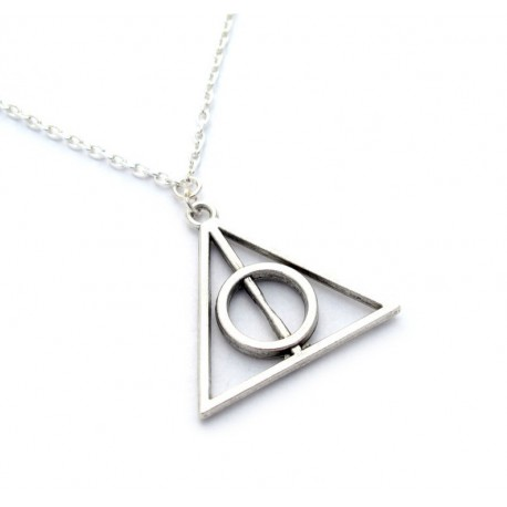 Colgante Harry Potter Reliquias de la Muerte deathly Hallows