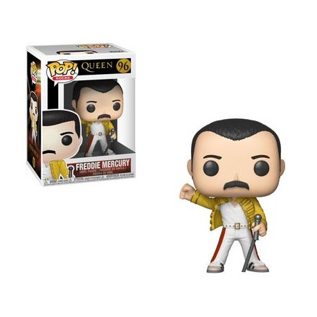 Figura Freddy Mercury Queen Wembley 1986 Pop Vinyl 889698337328
