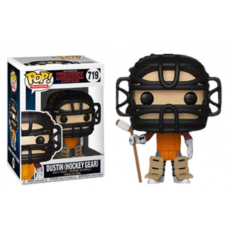 Dustin Hockey Stranger Things Pop Vinyl Funko