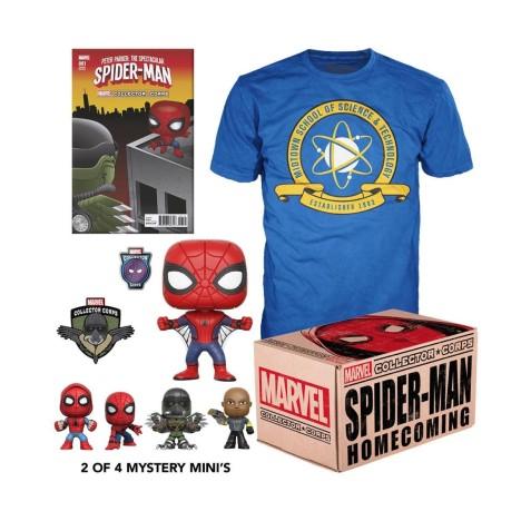 6027486e4e14 Marvel Pack de Regalo Collector Corps Box...