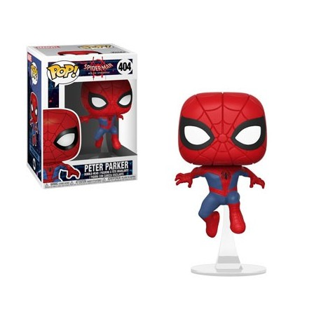 Peter Parkerc N404 Spiderman Into the spiderverse funko pop