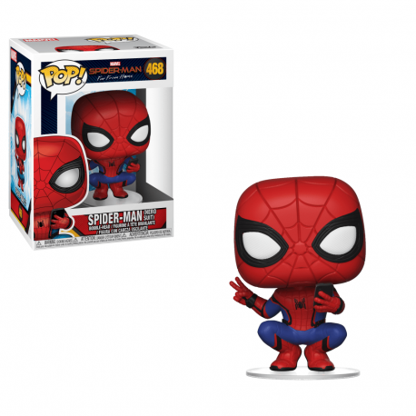 Spider-Man N468 hero Suit For From Home Funko pop spiderman