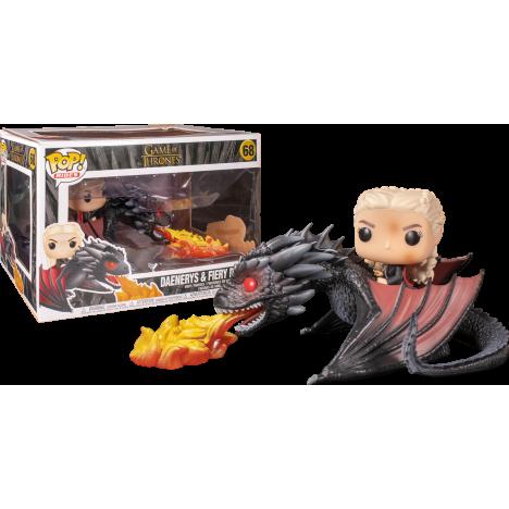 Daenerys y Drogon Funko Pop Rides Juego Tronos Game Thrones