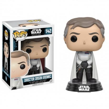 Figura CApitán Cassian Andor Rogue One Captain Pop Vinyl Funko Star Wars