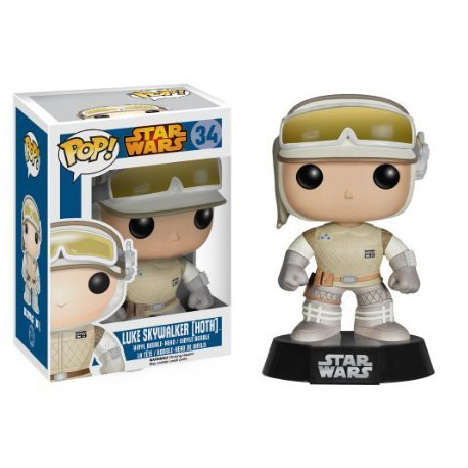 Figura Luke Hoth Pop Vinyl Star wars funko