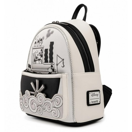 Mochila Steamboat Willie Mickey Mouse Loungefly backpack