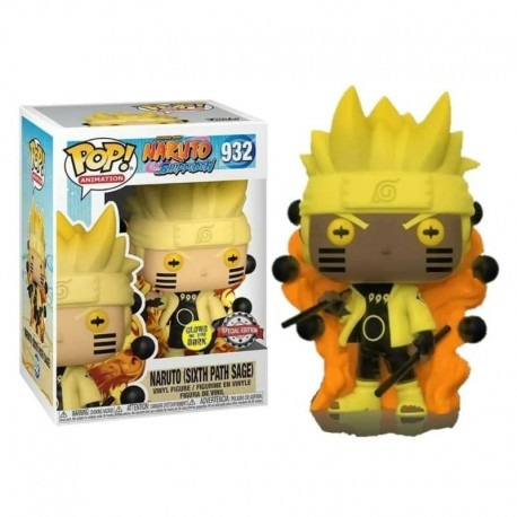 Figura Naruto Six Path Sage Shippuden Funko Pop Vinyl aNime 932