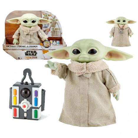 Baby Yoda ANimatrónico Child Mandalorian Star Wars interactiva