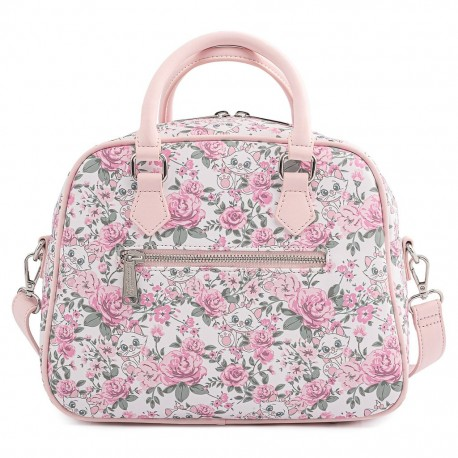 Mochila Marie Aristogatos floral tootsy Loungefly backpack