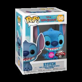 Stitch flocked 1045 Pop vinyl Funko Lilo y Stitch
