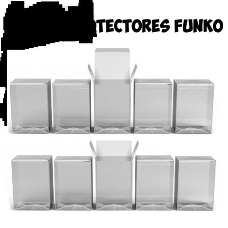"""Pack 10 Protectores Endorshop para Funko estándar 4"""" 10cm"""