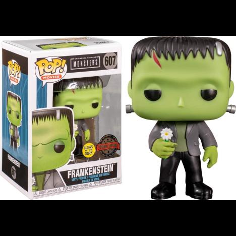 Frankenstein with flower flor funko Pop Vinyl
