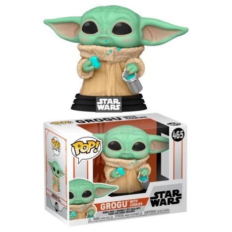 Child Baby Yoda knob Funko Pop 370 Mandalorian Star Wars