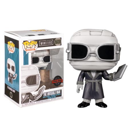 Hombre Invisible Funko Pop 608 Monsters