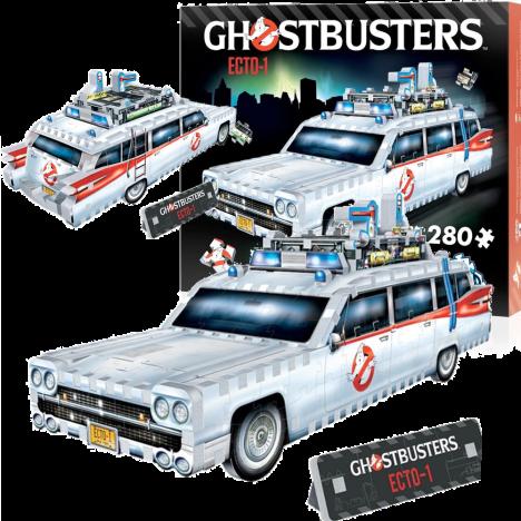 Puzzle 3d Ecto1 Cazafantasmas Ghostbusters ecto1 ecto
