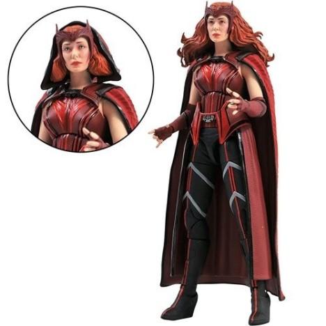 Wanda Bruja Escarlata Scarlet Witch Wandavision figura marvel legends