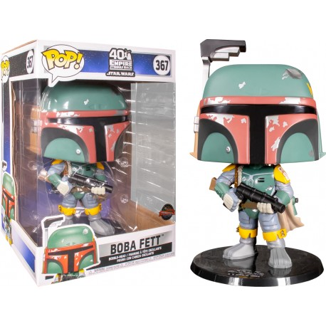 Star Wars Figura Super Sized POP! Vinyl Boba Fett 25 cm