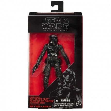 Figura Star Wars Black Series Poe Dameron primera orden Hasbro Force Awakens
