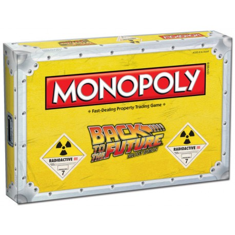 Monopoly regreso al futuro Back to the future (inglés)