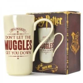 Taza Alta Caffe Latte Harry Potter Muggles