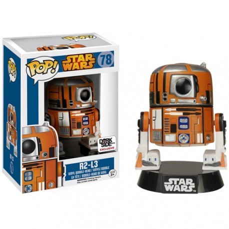 Figura Pop R2D2 Pop Vinyl Star Wars R2-D2