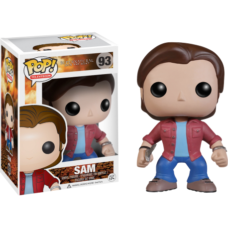 Figura exclusiva Sobrenatural Sam Pop Blood Spattern supernatural Funko