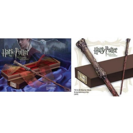 Réplica Varita mágica Harry Potter Noble collection edicion Character wand