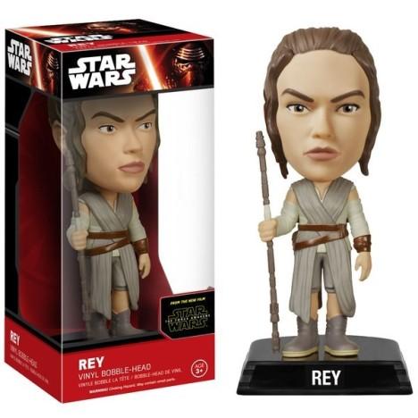 Figura Bobble Head Rey Star Wars Force Awakens 15cm