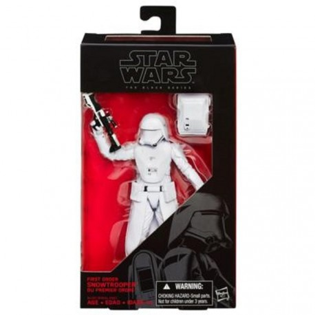 Figura Star Wars Black Series Snowtrooper Oficial Exclusive