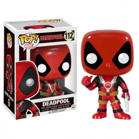 Figura Pop Vinyl Deadpool Funko two swords