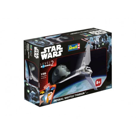 Maqueta Lanzadera Imperial star Wars Easy Kitt Revell Imperial Shuttle nave