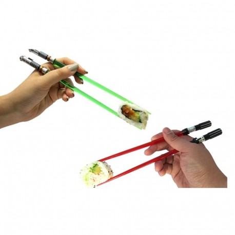 Star Wars Set 4 palillos sable laser Darth Vader y Luke Skywalker chopsticks lightsaber Kotobukiya