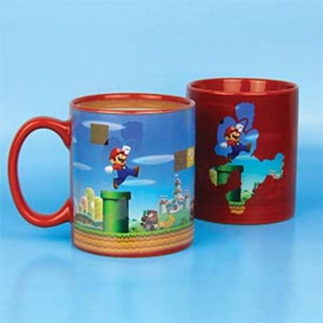 Taza Super Mario Bros Make a level Nintendo