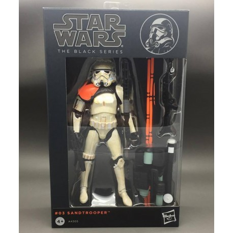 Figura Sandtrooper Black Series Star Wars Hasbro Oficial