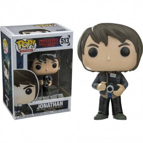 Figura Stranger Things Jonathan Pop Vinyl Funko