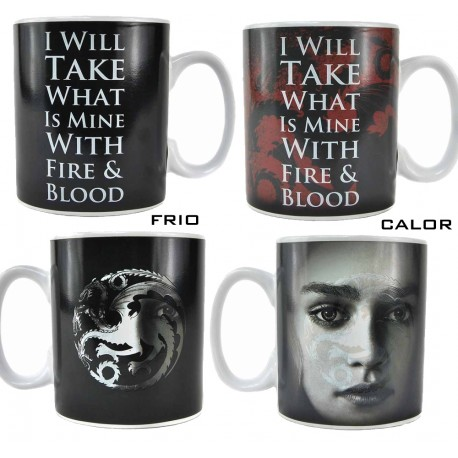 Taza Sensitiva Calor Tyrion Lannister I drink i know things