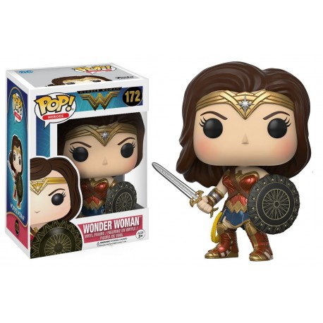 Wonder Woman Pop funko Blue Gown