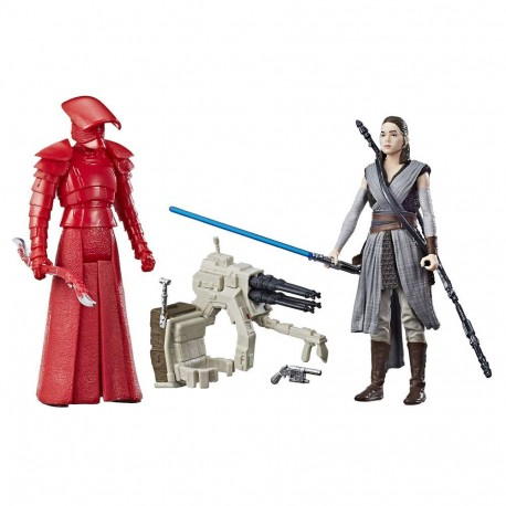 Pack 2 figuras Mission Darth Vader y Luke Star wars Hasbro escala 3 3/4
