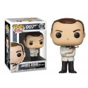 Figura Sean Connery N518 White Tux James Bond funko Pop Vinyl
