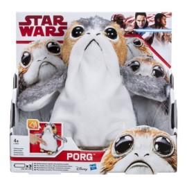 Peluche Porg Interactivo Star Wars The last jedi