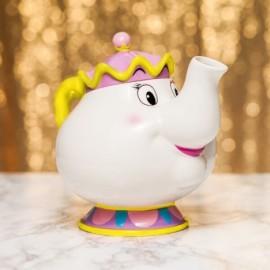Tetera La Bella y la Bestia diseño 3d cerámica Tea Pot Mrs Potts