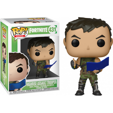 Figura Tower Recon Specialist funko Pop Fortnite