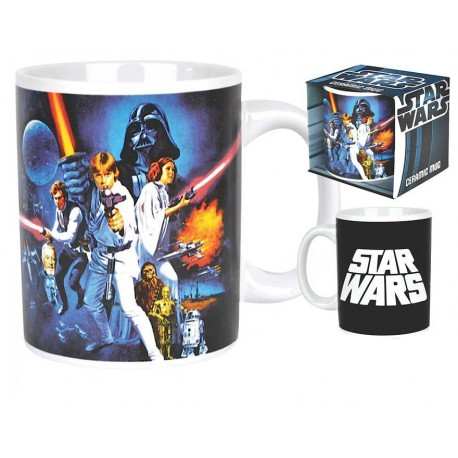 TAZA STAR WARS: UNA NUEVA ESPERANZA A NEW HOPE MUG
