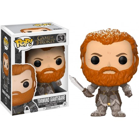Tormund Matagigantes Snow covered exclusiva Juego de Tronos Funko Pop (Game of Thrones)