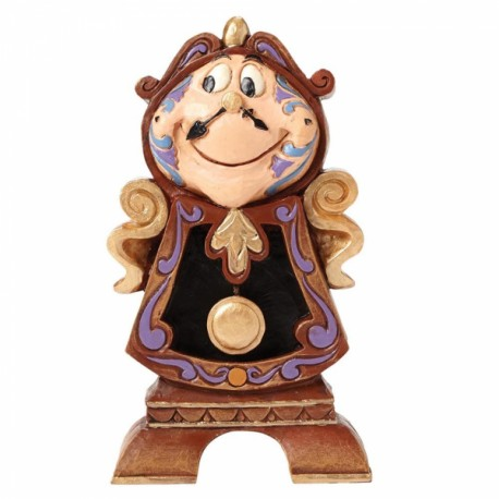 Figura Mrs Potts y Chip Jim Shore Disney Traditions