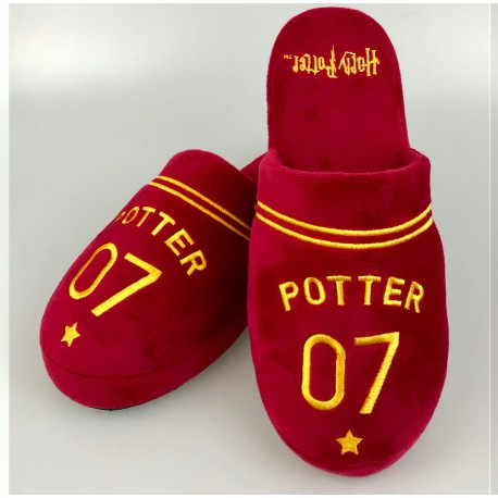 Zapatillas Reliquias de la Muerte 42-45 Harry Potter slippers